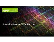 with CUDA Fortran