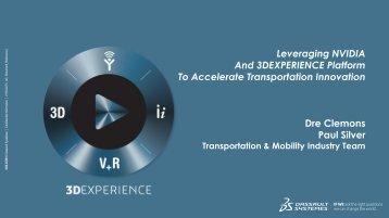 Accelerate Transportation Innovation - GPU Technology Conference