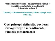 Opći pristup i definicija , povijesni razvoj teorije o ... - LUMENS