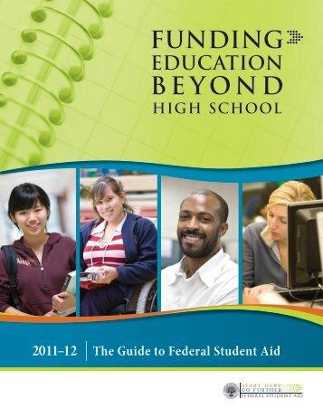 Funding Education Beyond High School - The University of Scranton ...
