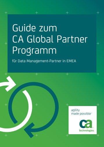 Guide zum CA Global Partner Programm für Data ... - ARCserve