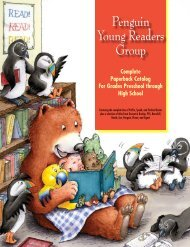 Penguin Young Readers Group - Bookseller Services - Penguin Group