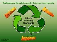 Fine Arts Performance Descriptors and Classroom Assessments