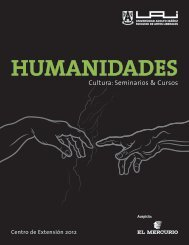 Cultura: Seminarios & Cursos - Universidad Adolfo Ibañez