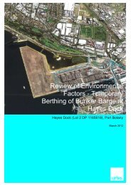 Review of Environmental Factors - Sydney Ports
