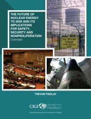 THE FUTURE OF NUCLEAR ENERGY TO 2030 AND ITS ... - acuns