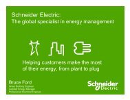 Smart Grid & Energy Management - Schneider Electric