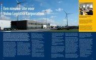 Een nieuwe site voor Volvo Logistics Corporation - Grontmij