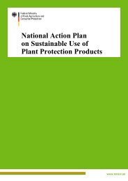 National Action Plan on Sustainable Use of Plant Protection Products