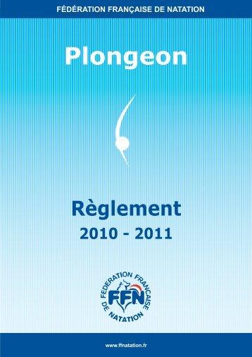 Plongeon - Fédération Française de Natation