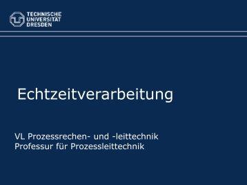 Rechtzeitigkeit - Technische Universität Dresden