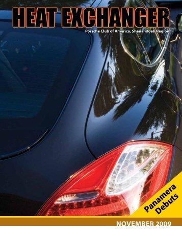 Panamera Debuts - Shenandoah Region Porsche Club of America