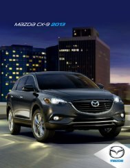Catálogo Mazda CX-9 2013