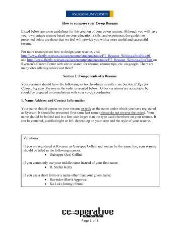 Work Resume Guidelines Resume Define Resume At Dictionary  Resume Guidelines