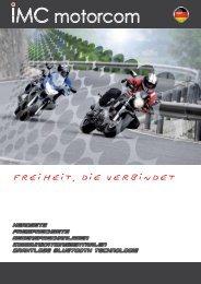 Fahrzeugspezifische Headsets HS-V Serie für can ... - IMC Motorcom