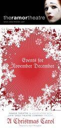 A Christmas Carol - Ramor Theatre