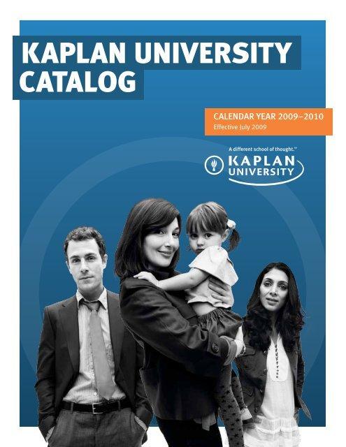 KAPLAN UNIVERSITy CATALOG - Kaplan University | KU Campus