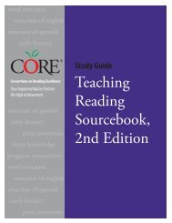 Teaching Reading Sourcebook, 2nd Edition - Core