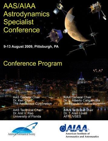 Conference Program - Space Flight Mechanics Committee