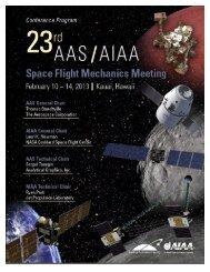 meetings - Space Flight Mechanics Committee