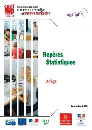 Repères Statistiques - Carif Oref Midi-Pyrénée