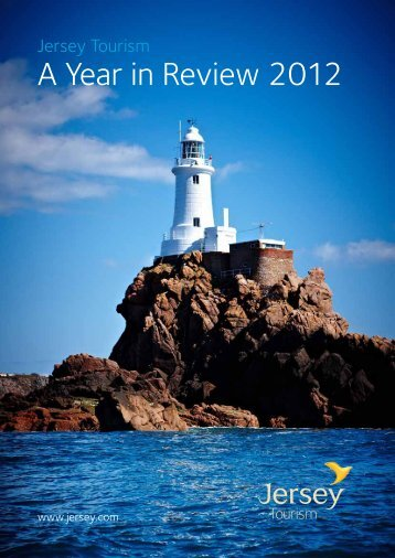 Jersey Tourism: A Year in Review 2012. - States Assembly