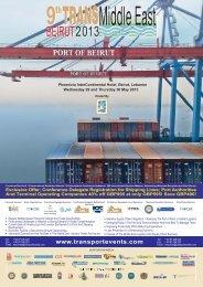 Conference Delegate Registration for Shipping Lines; Port ...