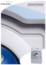 Electrolux Professional ... - Electrolux Laundry Systems