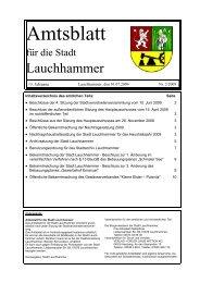 Bergmannstag 2009 - Stadt Lauchhammer