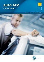 Tjekliste til klargøring - Industriens Branchearbejdsmiljøråd