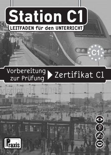 Station C1 Leitfaden für den Unterricht - Praxis