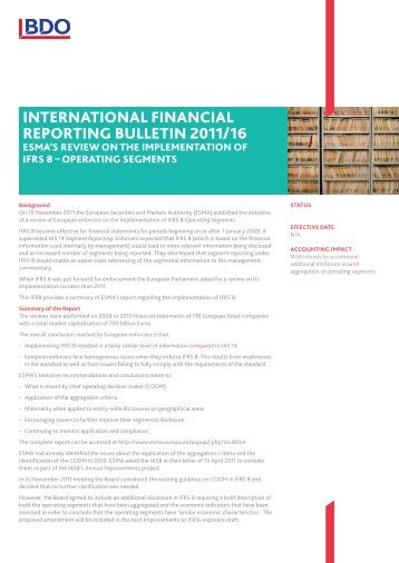 accounting aasa 8 operating segment An operating segment may sell primarily or exclusively to other operating segments of the business on 30 june 2010, the australian accounting standards board published aasb 1053.