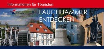 Tourismusbroschüre - Stadt Lauchhammer
