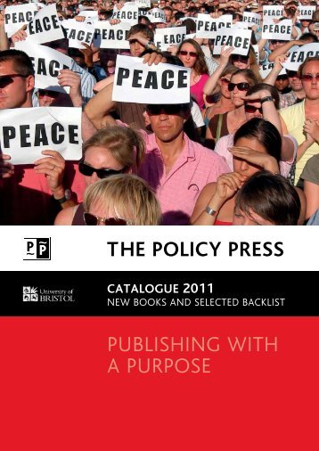 catalogue 2011 - Policy Press