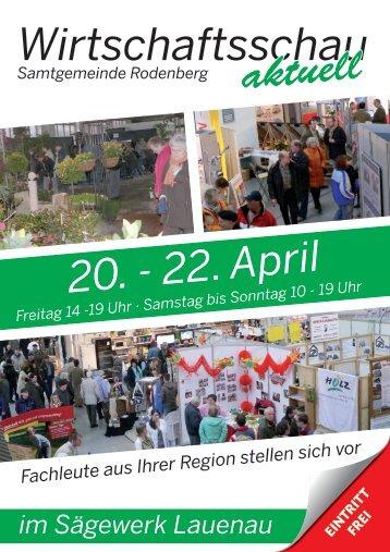 Wirtschaftsschau - Sonderveröffentlichung SW 18. April ... - Lauenau
