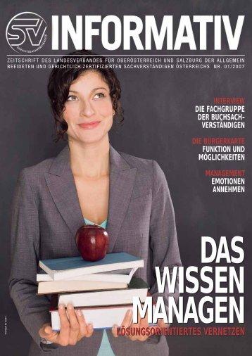 01/2007 - landesverband oberösterreich und salzburg