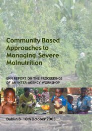 Community Based Approaches to Managing ... - Field Exchange