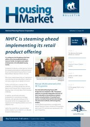 Housing Market Bulletin Vol. 2 Issue 10 - National Housing Finance ...