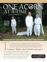 AT A TIME - Cary Institute of Ecosystem Studies