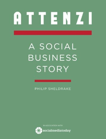 Attenzi - a social business story 2nd edition
