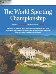 The World Sporting Championship - Clay Shooting USA