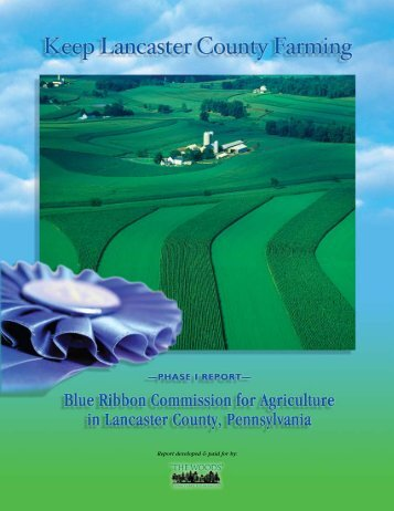 Blue Ribbon Commission for Agriculture in Lancaster County ...