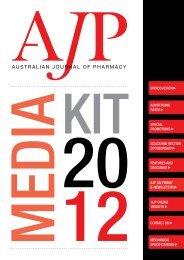 2012 Media Kit - Australian Pharmaceutical Publishing Company