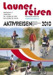 Wehrlachstr. 5 73499 Wört Tel.: (07964) 92 1000 www.launer-reisen ...