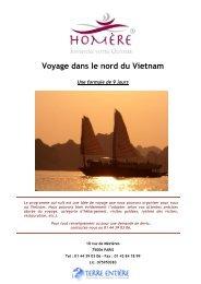 Voyage dans le nord du Vietnam
