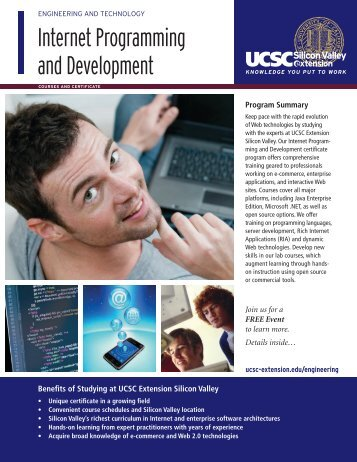 Internet Programming and Development - UCSC Extension Silicon ...