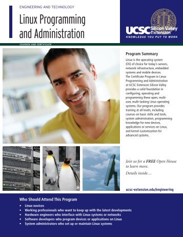 Linux Programming and Administration - UCSC Extension Silicon ...