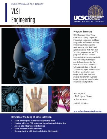 VLSI Engineering - UCSC Extension Silicon Valley
