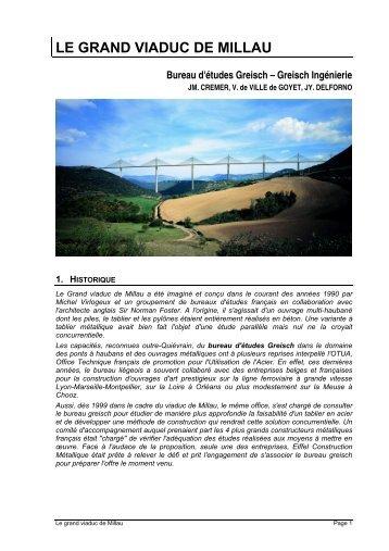 Le Grand Viaduc de Millau - CNR - SM