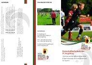 Ferienfußballschule des FC Augsburg - JFG Donauwörth